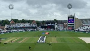 Match abandoned due to rain