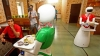 കണ്ണൂരില് ഇനി ഭക്ഷണം വിളമ്പാനും റോബോട്ടുകള്: കൗതുകമുണർത്തി മണിയൻ പിള്ള രാജുവിന്റെ റെസ്റ്റോറന്റ്
