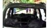 സമാധാന ശ്രമങ്ങൾക്ക് പുല്ലുവില; തിരൂരിൽ സിപിഎം  ബ്രാഞ്ച് സെക്രട്ടറിയുടെ കാര് കത്തിച്ചു