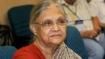 ദില്ലി മുൻ മുഖ്യമന്ത്രി ഷീല ദീക്ഷിത് അന്തരിച്ചു