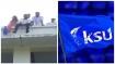 സര്വകലാശാല കെട്ടിടത്തിന് മുകളില് കയറി ആത്മഹത്യാഭീഷണിയുമായി കെ എസ് യു പ്രവര്ത്തകര്
