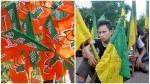 ത്രിപുരയിൽ ബിജെപിക്ക് മുമ്പിൽ വൻ പ്രതിസന്ധി; മറ്റുവഴികൾ തേടുമെന്ന് സഖ്യകക്ഷി,പ്രവർത്തകർ ഏറ്റുമുട്ടി