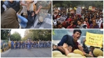 ദില്ലിയിലെ തെരുവിൽ വീണ്ടും മുഴങ്ങി 'ആസാദി', ജെഎൻയു വിദ്യാർത്ഥികൾക്ക് നേരെ പോലീസ് ലാത്തിച്ചാർജ്