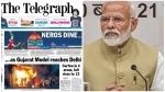 'നീറോയുടെ വിരുന്ന്.. ഗുജറാത്ത് മോഡല് ദില്ലിയിലെത്തുമ്പോള്',ചര്ച്ചയായി ടെലിഗ്രാഫിന്റെ തലക്കെട്ട്
