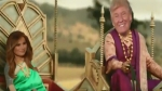 'ബാഹുബലിയായി ട്രംപ്, ശിവകാമിയായി മെലാനിയ'; ഇന്ത്യാ സന്ദര്ശനത്തിന് മുന്പ് വീഡിയോ പങ്കുവെച്ച് ട്രംപ്