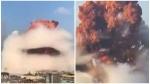 ലബനന് തലസ്ഥാനമായ ബെയ്റൂട്ടില് ഇരട്ട സ്ഫോടനം! കെട്ടിടങ്ങൾ തകർന്നു, നിരവധി പേർക്ക് പരിക്ക്
