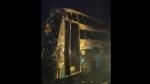 കര്ണാടകയില് ഓടികൊണ്ടിരിക്കുന്ന ബസിന് തീപിടിച്ചു; മൂന്ന് കുട്ടികള് അടക്കം അഞ്ച് മരണം