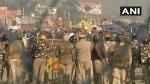 ദില്ലി ചലോ, ആയിരക്കണക്കിന് കർഷകർ ദില്ലിയിലേക്ക്, ബാരിക്കേഡും മുള്ളുവേലിയും നിരത്തി പോലീസ്