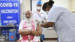 പ്രധാനമന്ത്രി നരേന്ദ്ര മോദി ആദ്യ ഡോസ് വാക്സിന് സ്വീകരിച്ചു, പൗരന്മാര്ക്കുള്ള വാക്സിനേഷന് ആരംഭിച്ചു