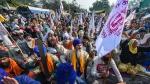 കര്ഷക പ്രതിഷേധം: കുണ്ട്ലി-മനേസർ-പാൽവാൾ ദേശീയപാത കര്ഷകര് ഉപരോധിക്കുന്നു