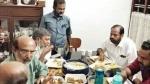 ഐസക് സാറേ, ലേശം ചോറ് കൂടി; സിപിഎമ്മിനെതിരെ രൂക്ഷ പരിഹാസവുമായി രാഹുല് മാങ്കൂട്ടത്തില്