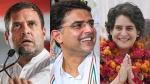 രാജസ്ഥാനിൽ തർക്ക പരിഹാരത്തിന് 3 സാധ്യകൾ..പൈലറ്റ് ക്യാമ്പിന് ചിരി..രാഹുൽ-പ്രിയങ്ക ടീം പദ്ധതി ഇങ്ങനെ