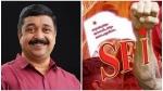 'എസ്എഫ്ഐ അവരുടെ തനത് സ്വഭാവം കാണിച്ചു', രൂക്ഷമായി പ്രതികരിച്ച് നജീബ് കാന്തപുരം എംഎൽഎ