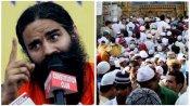 ഇന്ത്യയിലെ 99 ശതമാനം മുസ്ലീംങ്ങളും മതപരിവര്ത്തനം നടത്തിയവരെന്ന് ബാബാ രാംദേവ്