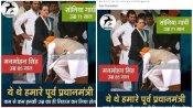 'സോണിയ ഗാന്ധിയുടെ കാൽതൊട്ട് വന്ദിച്ച് മൻമോഹൻ സിംഗ്, നോക്കി നിന്ന് രാഹുൽ'; ചിത്രത്തിന് പിന്നിലെന്ത്