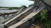 തലശേരി- മാഹി ദേശീയപാത ബൈപ്പാസിന്റെ ബീം തകര്ന്നു വീണത് രാഷ്ട്രീയ വിവാദത്തിലേക്ക്