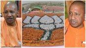 യോഗി വന്നപ്പോള് കേരളത്തില് വിരിഞ്ഞ 'മനുഷ്യ താമര'! ദേശീയ തലത്തില് ബിജെപി പ്രചാരണം... പക്ഷേ, വന് നുണ