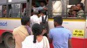 കര്ണാടകയില് ട്രാന്സ്പോര്ട്ട് ബസ് സമരം ആരംഭിച്ചു, യാത്രക്കാര് ദുരിതത്തില്