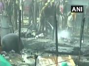 ഉത്തർ പ്രദേശിലെ പ്രയാഗ് രാജിൽ കുംഭമേള ക്യാംപിൽ തീപിടുത്തം, ആളപായമില്ലെന്ന് റിപ്പോർട്ട്