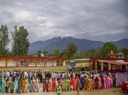 Lok Sabha Elections 2019: രണ്ടാംഘട്ട വോട്ടെടുപ്പ്  പുരോഗമിക്കുന്നു, 95 മണ്ഡലങ്ങൾ വിധിയെഴുതുന്നു