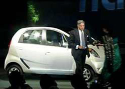 Nano, the one lakh car from Tata