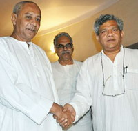Naveen With Yechuri