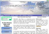 Prayer Website