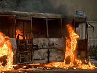 Kalamassery bus burning