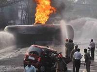 Tanker Accident
