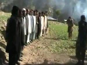 Taliban execute Pakistan security forces