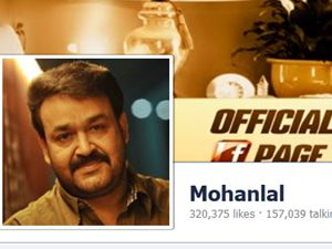 Mohanlal A Superstar On Facebook Too