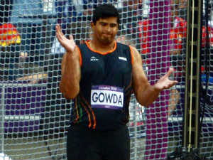 London Olympics 2012 Discus Throw Vikas Gowda Final