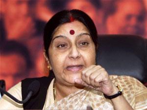 India Sushama Swaraj Upa Govt Bjp Parliament Corruption