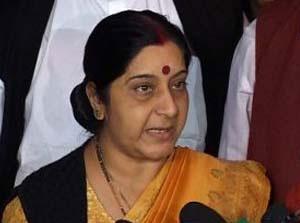India Sushama Swaraja Revenge Ten Heads Pakistan