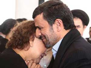 Nejad Critcised For Hugging Chavezs Mother