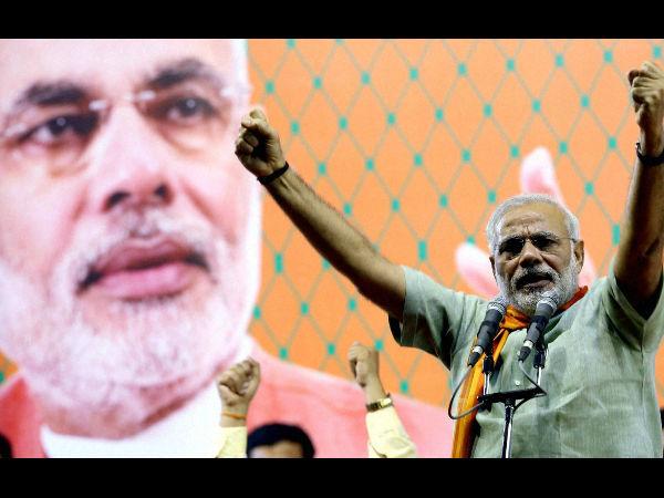 India E Soldiers March For Narendra Modi