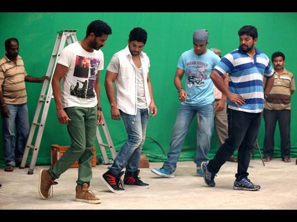 Pictures Prabhu Deva Direct Allu Arjun In Colgate Ad
