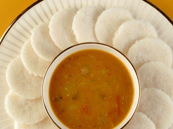 India Idli Sambhar Most Nutritious Breakfast