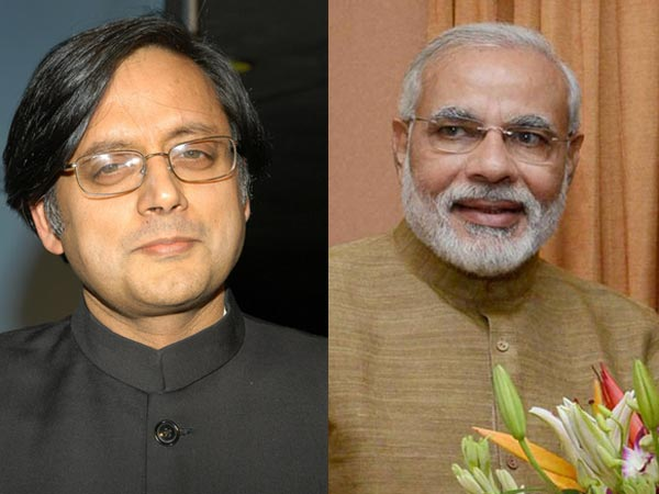 Modi and Tharoor