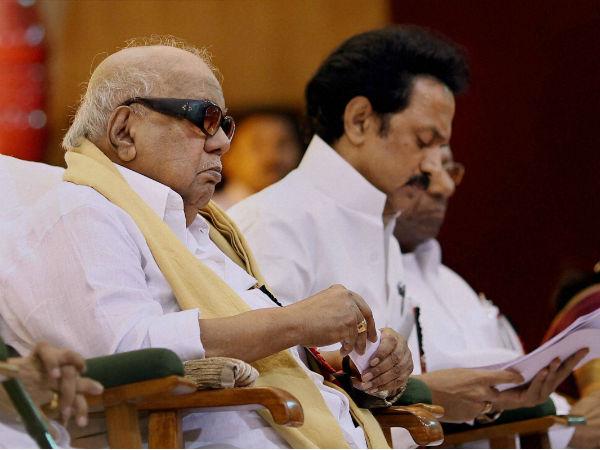 Karunanidhi Says This May Be His Last Poll Calls Modi Irrelavant