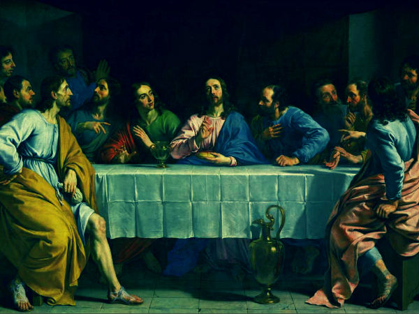 Christian Celebrates Holy Thursday