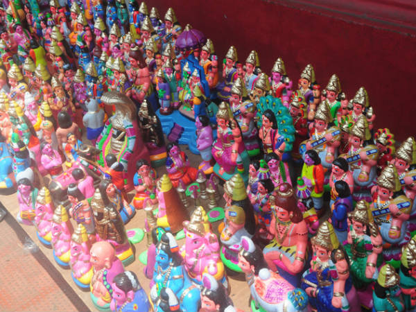 Navaratri Idols Reach City Pictures