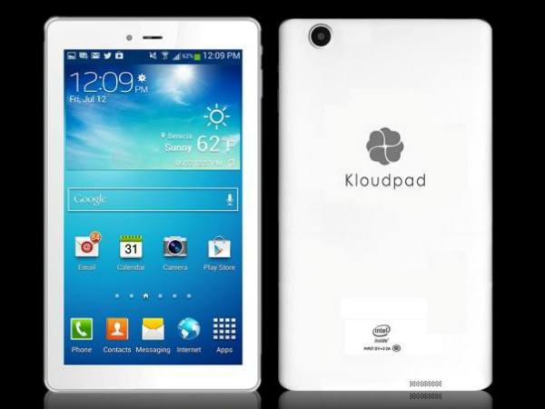 Uk Based Kloudpad Set Up Production Facility 3g Intel Tab Phone Kochi