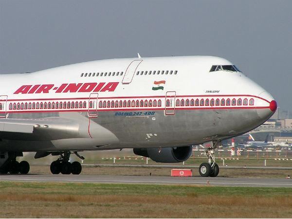 Air India Flight Returns Airport