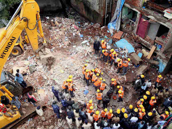 Thane Building Collapse Death Toll Rises