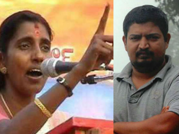 Threat For Journalist For Criticising Sasikala On A Tv Programme