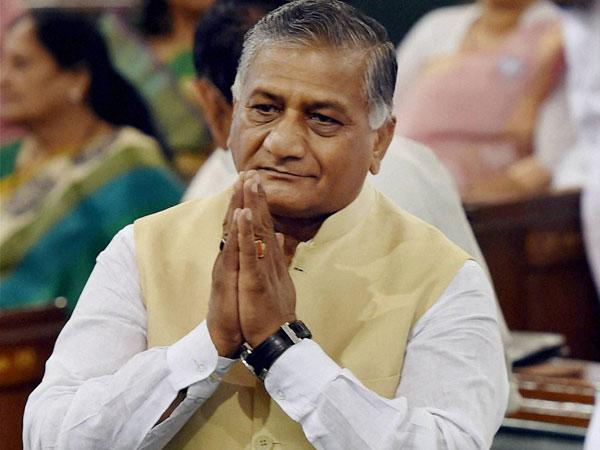Dog Analogy Vk Singh Says If Anyone S Sentiments Are Hurt I Apologise