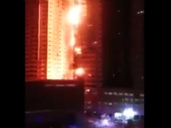 Ajman Police Reveals Reasons Behind Ajman Fire