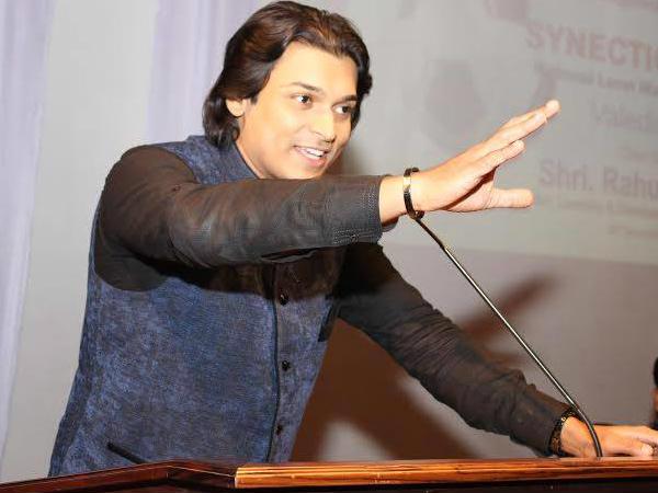 Rahul Easwar Files Fir Against Sadhvi Prachi