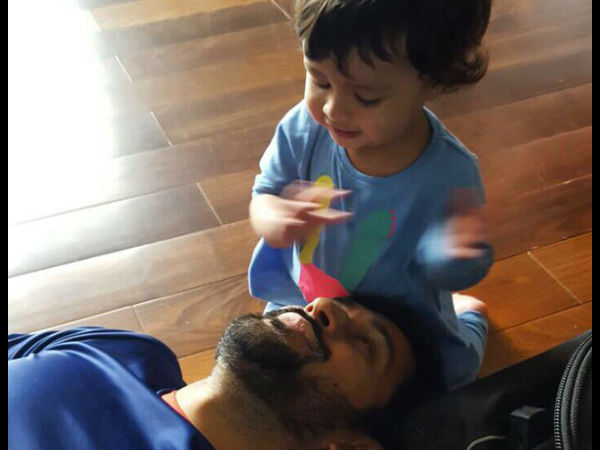 Break Will Help My Daughter Recognise Her Father Ms Dhoni
